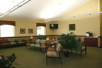 Gastroenterologist in Lima, OH waiting room